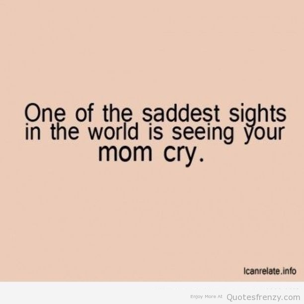 sad mother quotes
