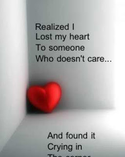 Realized I Lost My Heart To Someone Who Doesn\'t Care… And ...