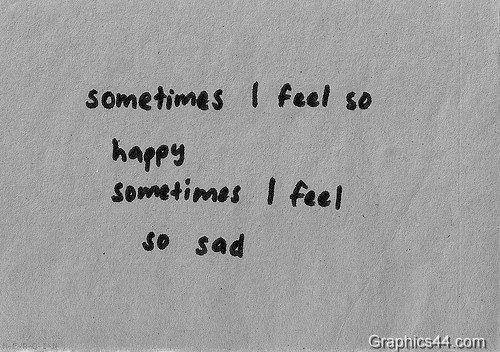 i feel so sad quotes