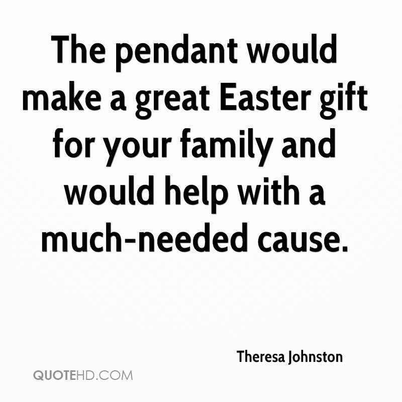 The pendant would make a great easter gift for your family and would the pendant would make a great easter gift for your family and would help with a negle Choice Image