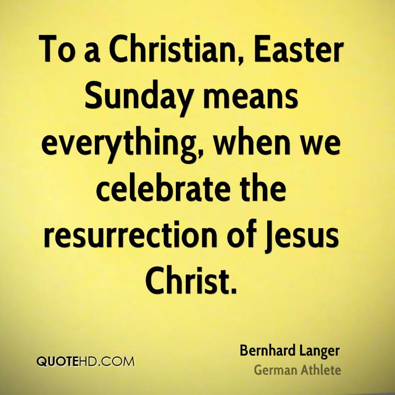 Easter Resurrection Sunday Jesus Christ