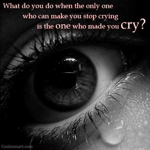 Quotes For Someone Who Is Sad: Crying Quotes Pictures And Crying Quotes Images With