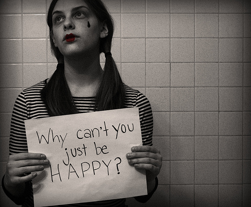 Why Can't You Just Be Happy!