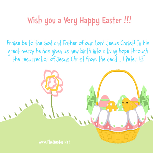Wish You A Very Happy Easter.