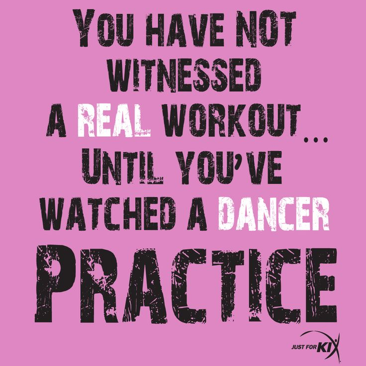 You Have Not Witnessed A Real Workout Until You've Watched A Dancer Practice