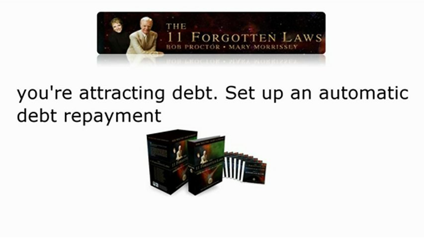 You're Attracting Debt. Set Up An Automatic Debt Repayment