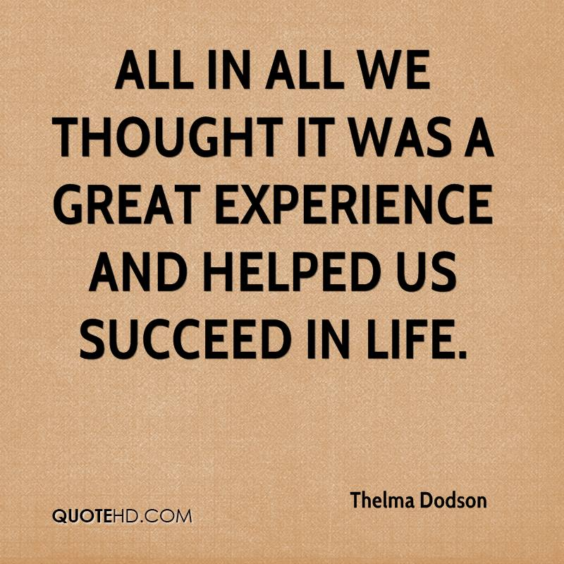 Quotes About Experience: Pictures And Quotes: Experience Quotes