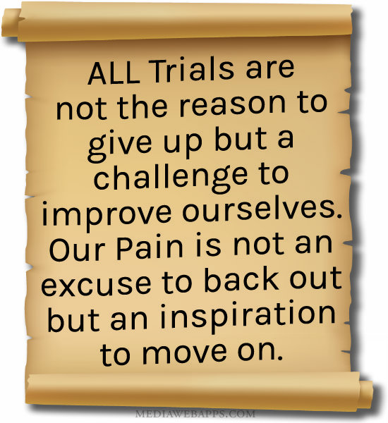 quotes about trials and challenges quotesgram
