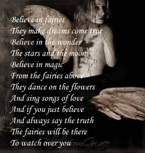 Believe In Fairies. They Make Dreams Come True Believe In The Wonder…