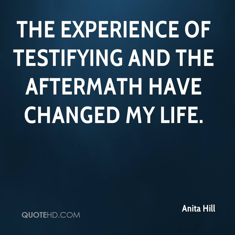 Anita Hill Quotes. QuotesGram