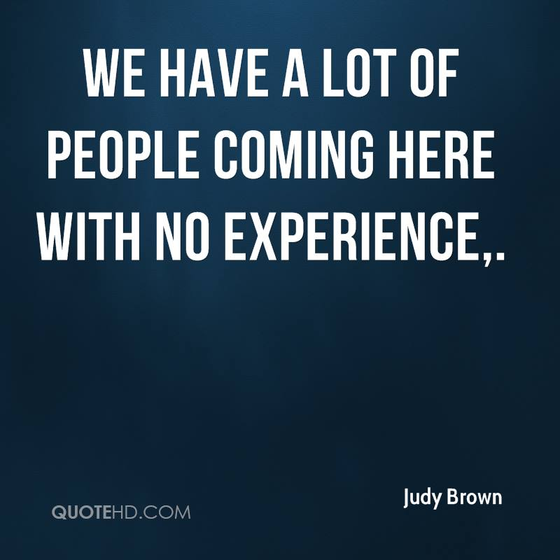 We Have A Lot Of Experience There. - Dom Starsia