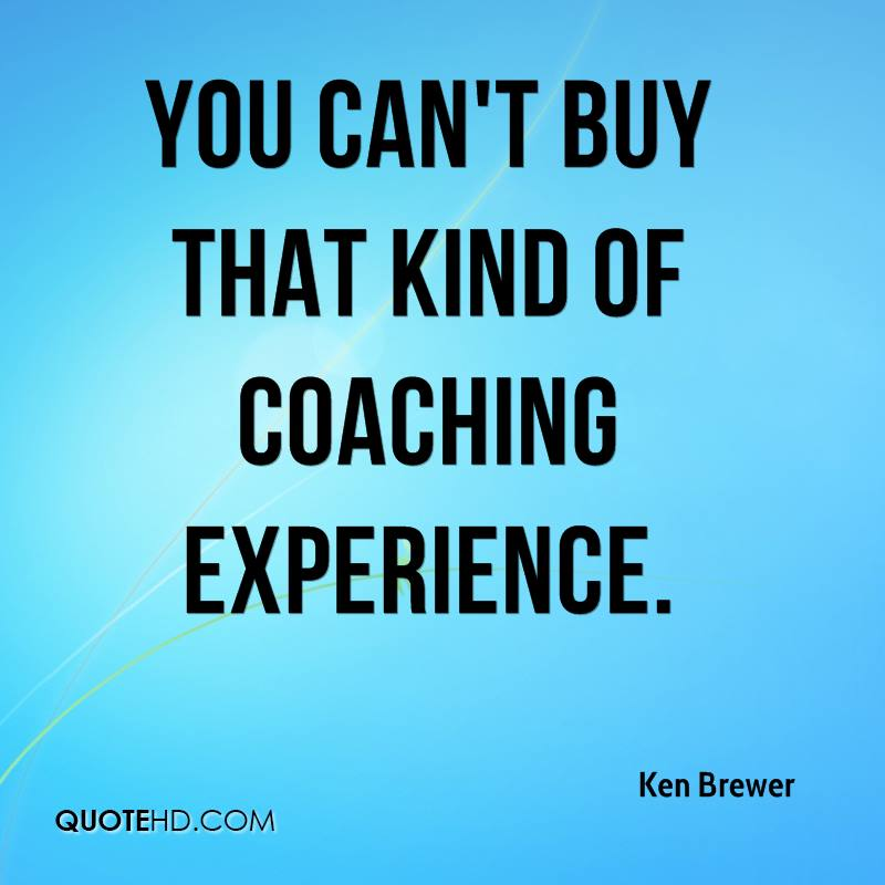 You Cannot Put A Price On Experience. - Brad Soderberg