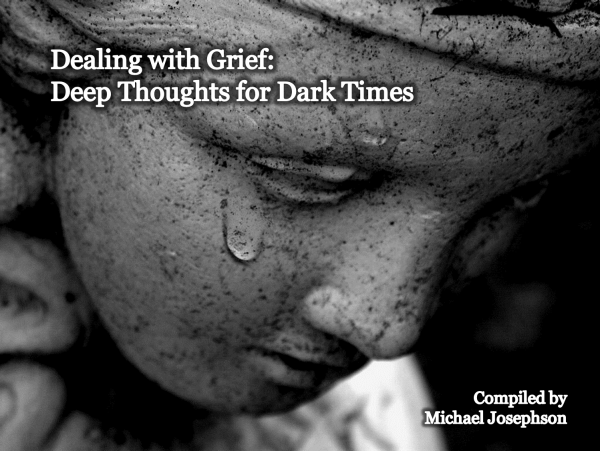 dealing with grief Students coping with grief & loss at school expert advice on recognizing symptoms of grief, accepting loss & getting help grief after a deeply-felt loss can range from a sadness that lingers, always hovering in the background, to a total emotional upheaval that turns your entire world upside down.