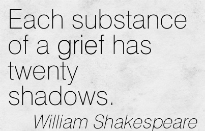 the theme of grief in hamlet by william shakespeare Major themes in william shakespeare  he wrote about betrayal in hamlet, when claudius kills his own brother (hamlet's father) to become king of denmark macbeth .