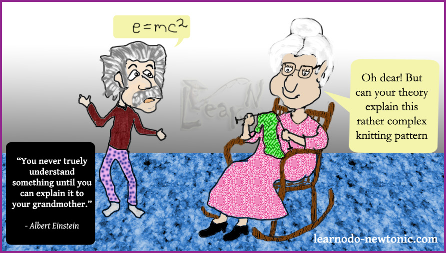 Einstein Grandmother
