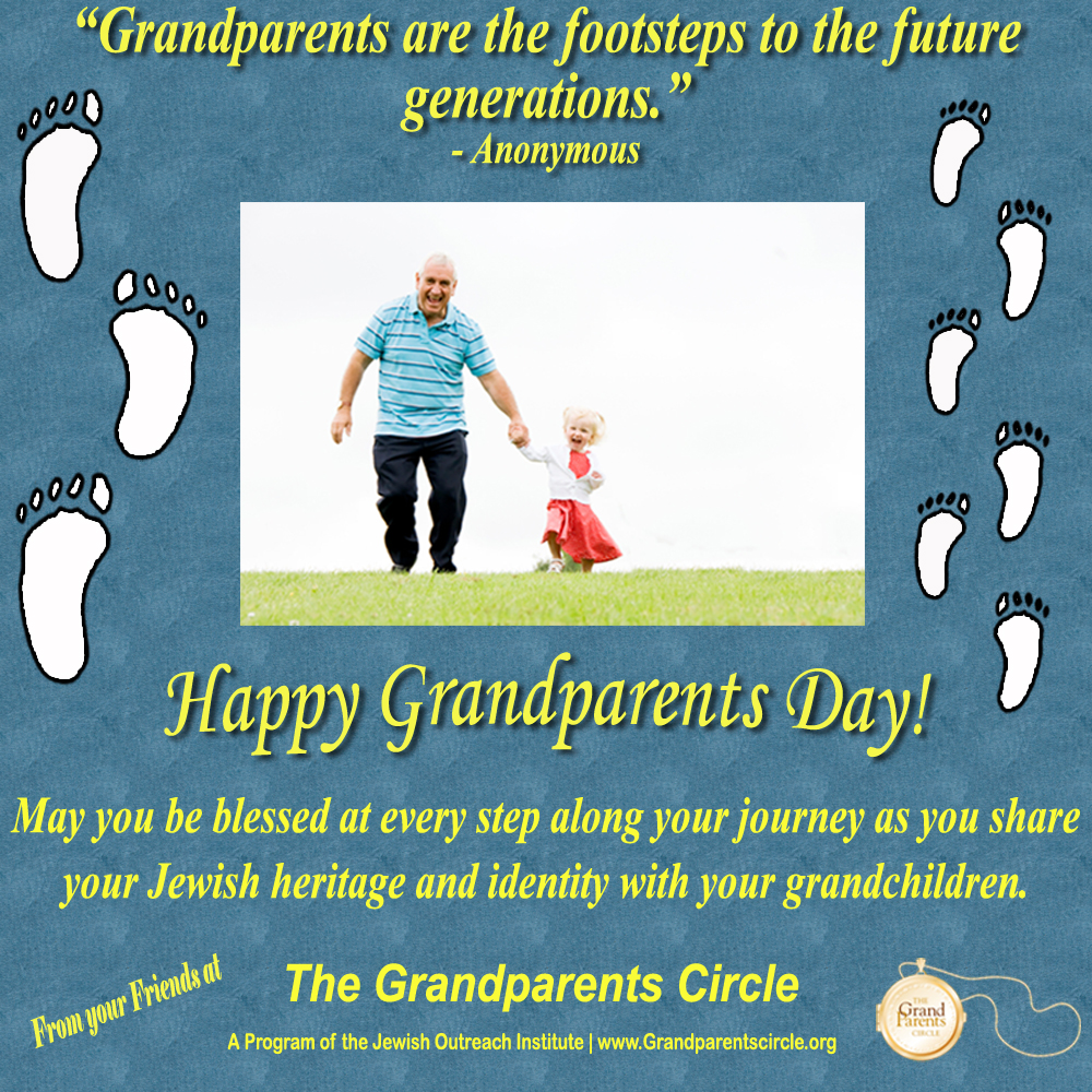 """"""" Grandparents Are The Footsteps To The Future Generations """""""
