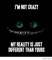 I'm Not Crazy My Reality Is Just Different Than Yours.