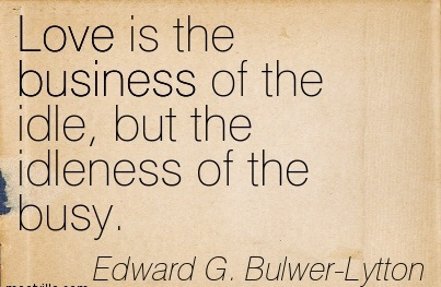 essays in idleness quotes about love