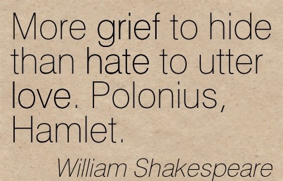 freuds idea of mourning in hamlet by william shakespeare Hamlet study guide contains a biography of william shakespeare, literature essays, a complete e-text, quiz questions, major themes, characters, and a full summary and analysis.