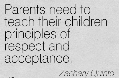 how to teach children to respect parent
