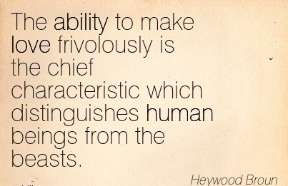 Quotes About Human Characteristics