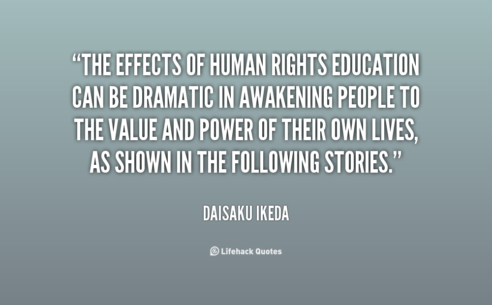 the effect of education