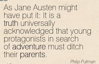 Young protagonists in search of adventure must ditch their parents