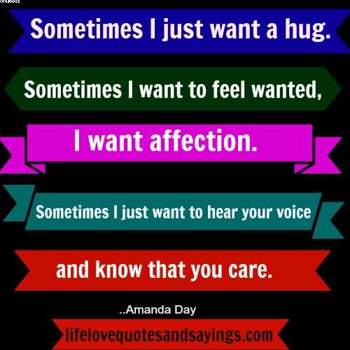 I Want To Cuddle With You Quotes: I Was Thinking Of You And I Wanted To Send You A Hug