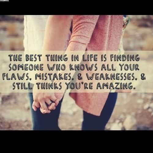 Your Amazing: The Best Thing In Life Is Finding Someone Who Knows All
