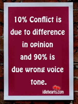 how would you respond to differences of opinion and conflict constructively Conflict arises from differences between people the same differences that often make diverse when people with varying viewpoints, experiences, skills, and opinions are tasked with a project or when a team oversteps the mark of healthy difference of opinion, resolving conflict requires.