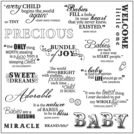 Baby Quotes..