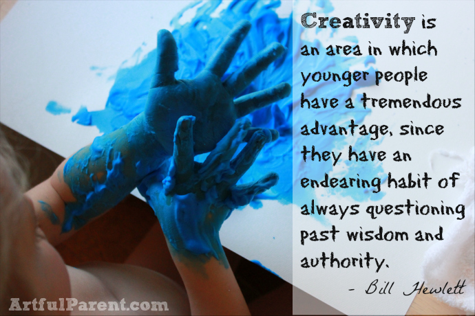 Creativity Is An Area In Which Younger People Have A Tremendous Advantage, Since They Have An Endearing Habit Of Always Questioning Past Wisdom And Authority. - Bill Hewlett