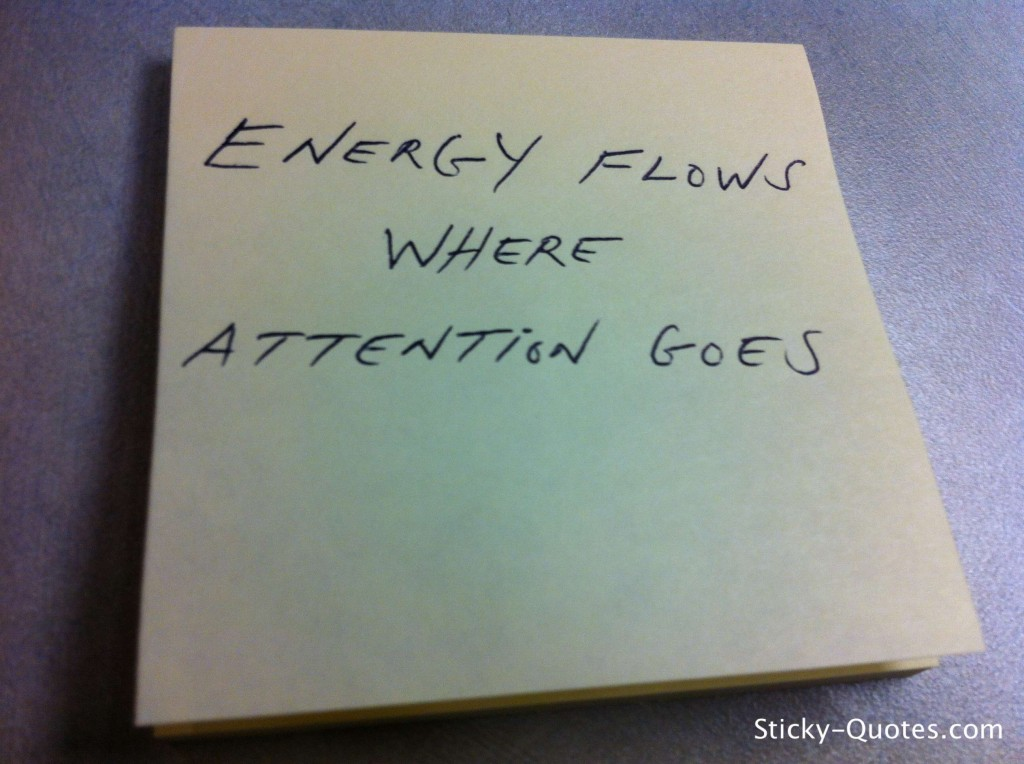 Energy Flows Where Attention Goes. (2)