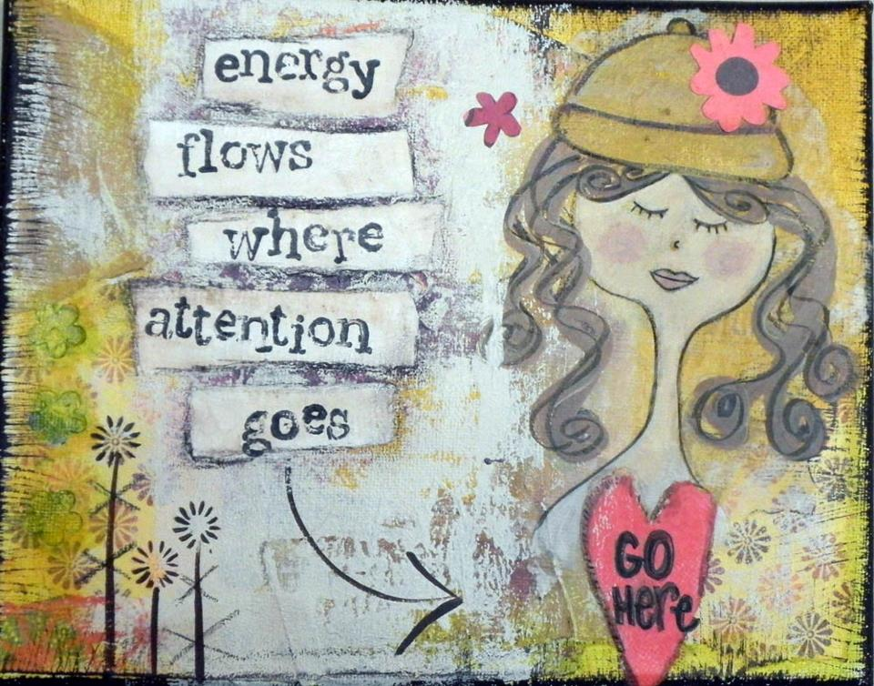 Energy Flows Where Attention Goes.