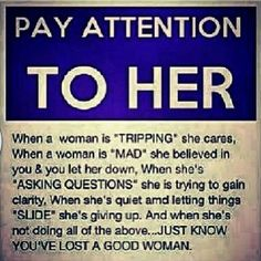 Pay Attention To Her. (2)
