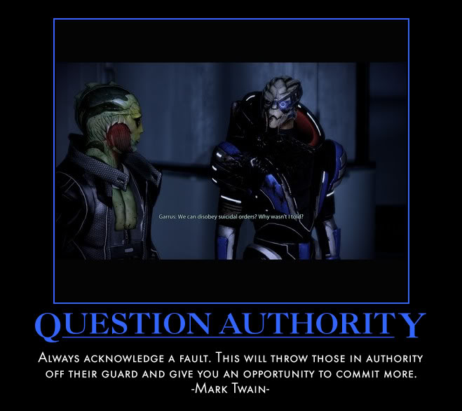 Question Authority..