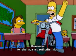Remember To Rebel Authority, Kids.