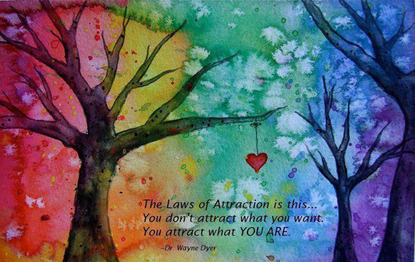 The Laws Of Attraction Is This You Don't Attract What You Want You Attract What YOU ARE. - Dr. Wayne Dyer
