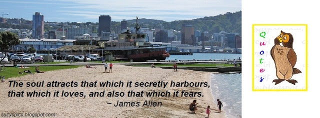The Soul Attracts That Which It Secretly Harbours, That Which It Loves, And Also That Which It Fears. - James Allen