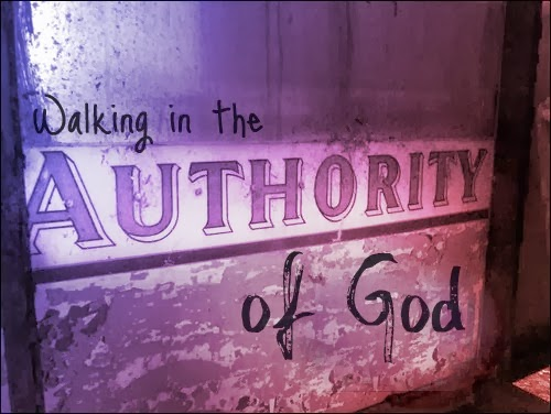 Walking In The Authority Of God.