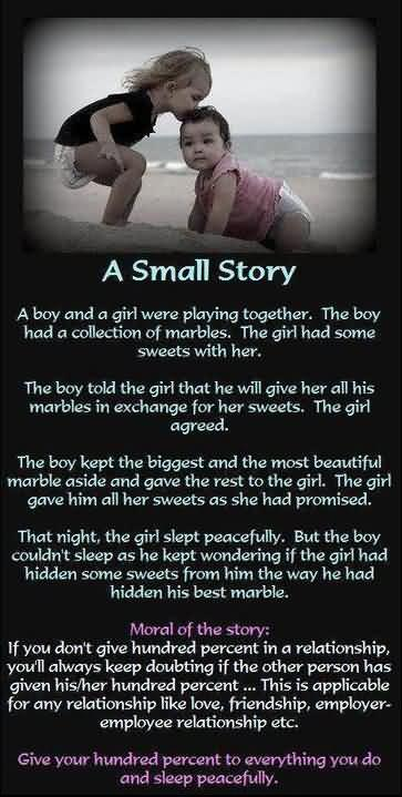 A Small Story