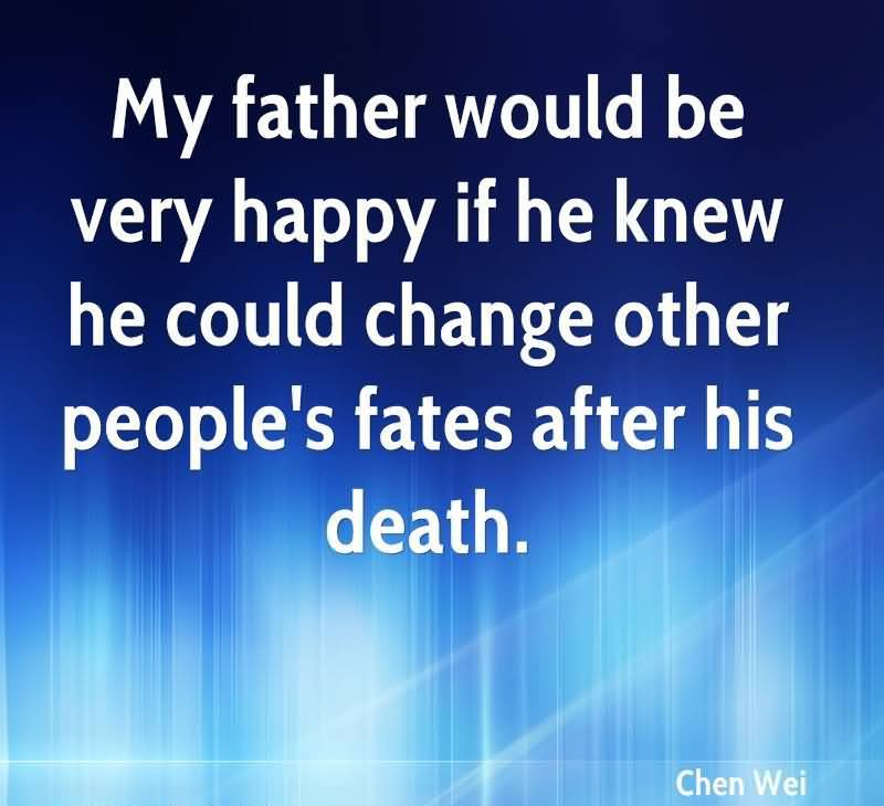 Dating after death of parent
