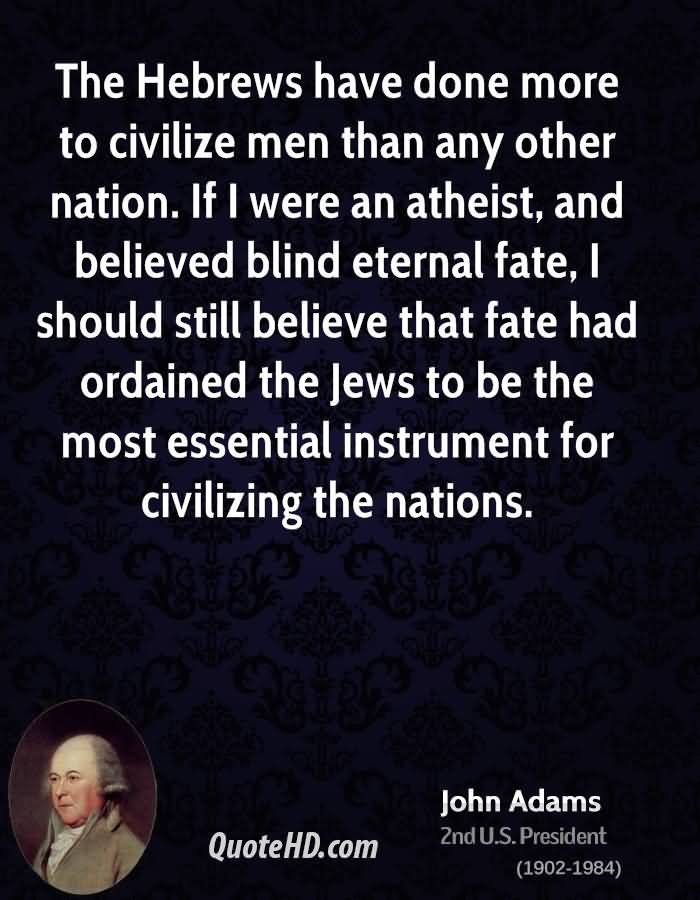 John Adams Atheist Quotes