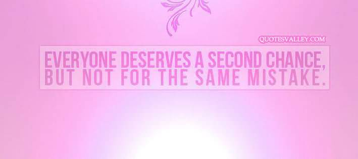 Second chance after cheating quotes