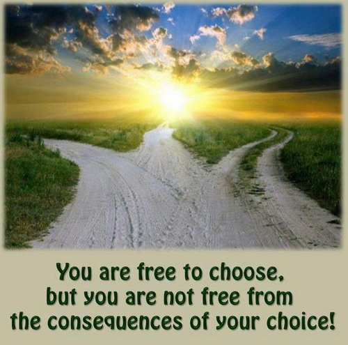 choices and consequences in a p John updike's a&p is a story about consequences each character in the story  makes a choice that results in a negative consequence queenie and the other.