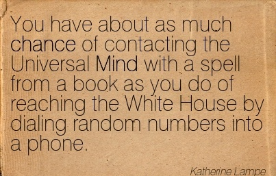 a book of random numbers