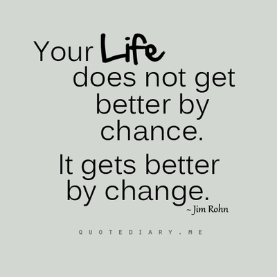 motivational business quote by jim rohn your life does not get