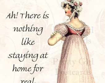Ah! there is Nothing like Staying at Home For Real. - Comfort Quotes