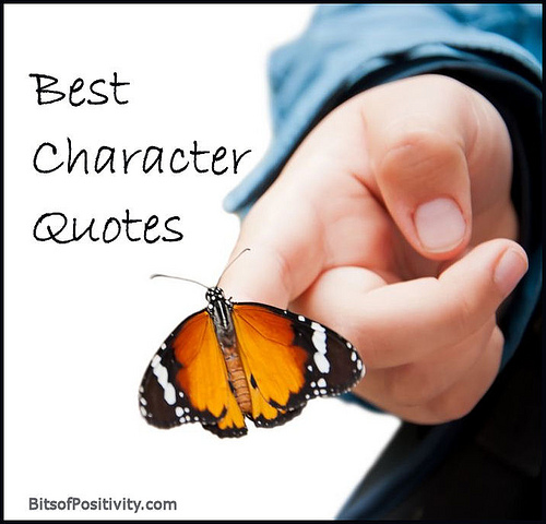 Best Character Quotes