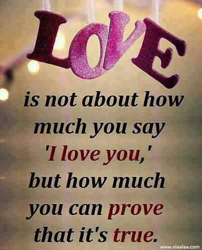 Best Love Quote-Can you prove how much you love me
